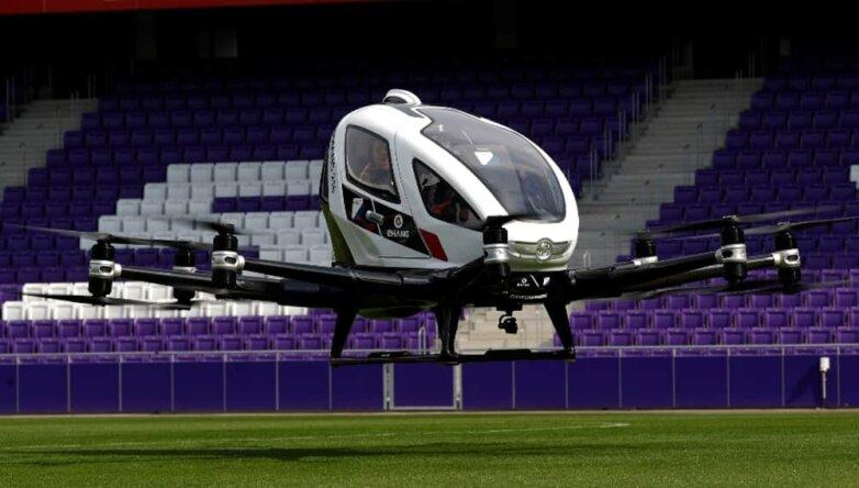 Автономное воздушное такси EHang 216