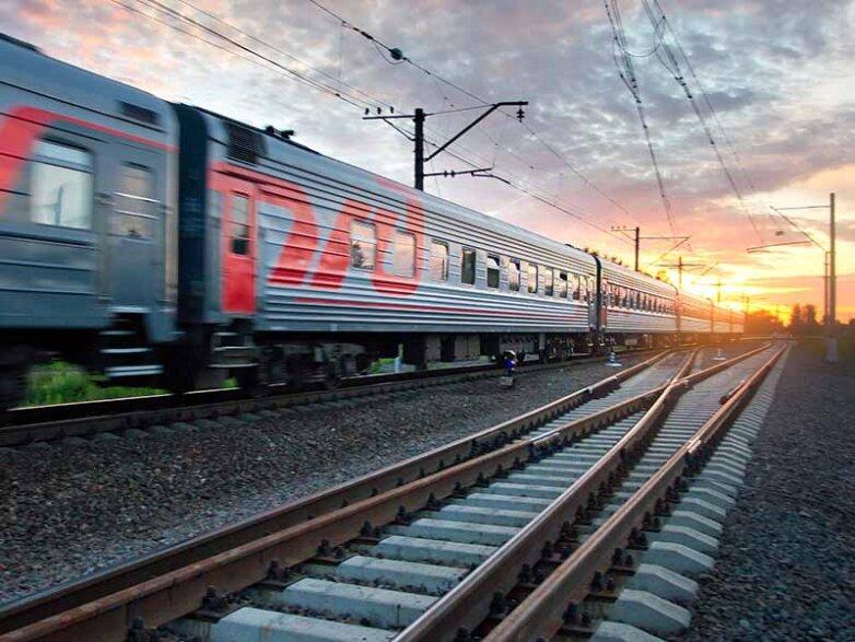 поезд ржд железная дорога путь