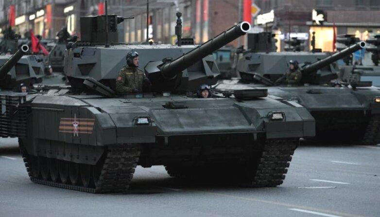 """Основной танк Т-14 """"Армата"""" с орудием 2А82-1М"""