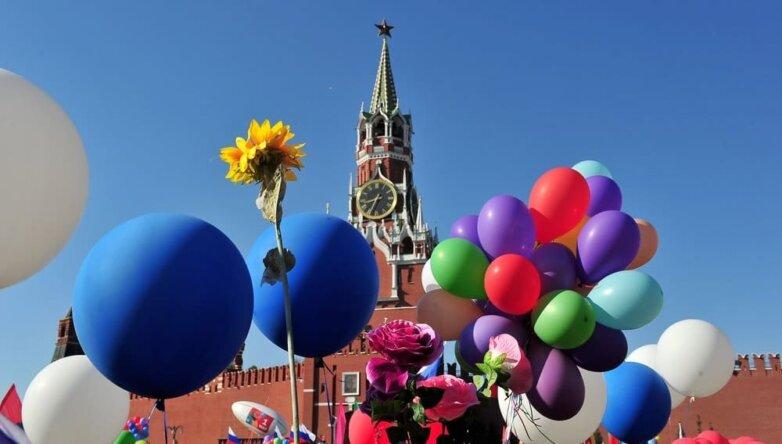 Майские праздники Красная площадь Кремль
