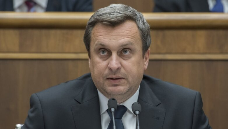 Спикер парламента Словакии Андрей Данко