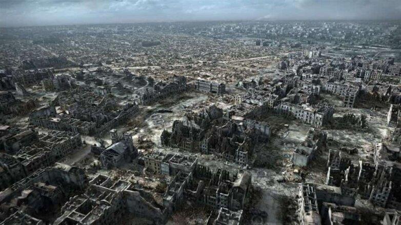 Варшава, Польша, 1945 год