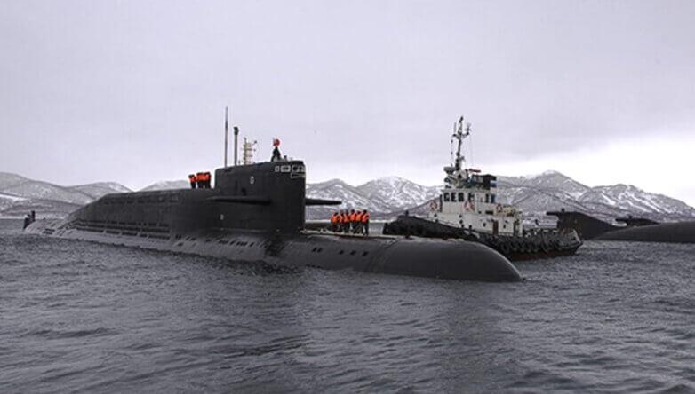 Атомный подводный крейсер стратегического назначения «Рязань»