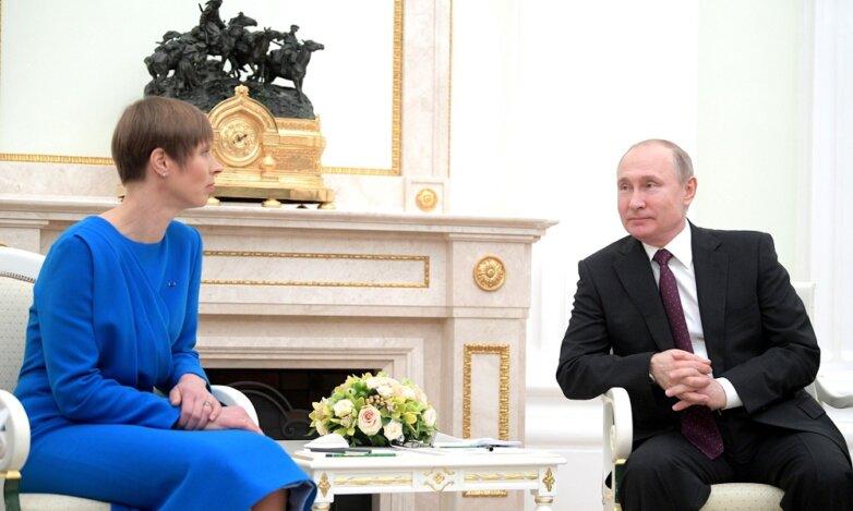 Путин, Керсти Кальюлайд