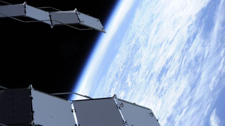 Земля, космос, спутник