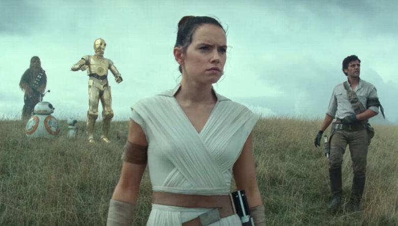 Кадр из фильма «Звездные войны: Восхождение Скайуокера»