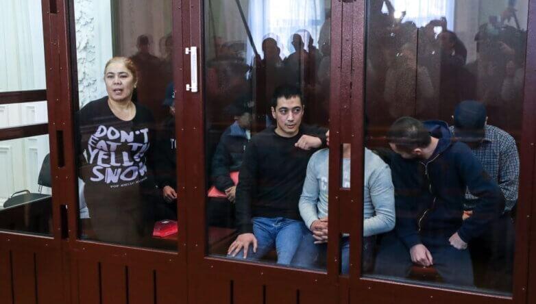 Обвиняемые по делу о теракте в петербургском метро 3 апреля 2017