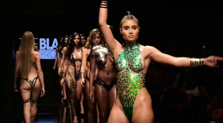 The Black Tape Project Runway Show - Los Angeles Fashion Week