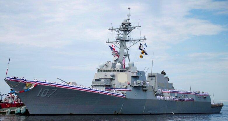 "Ракетный эсминец ""Грейвли"" USS Gravely (DDG-107)"
