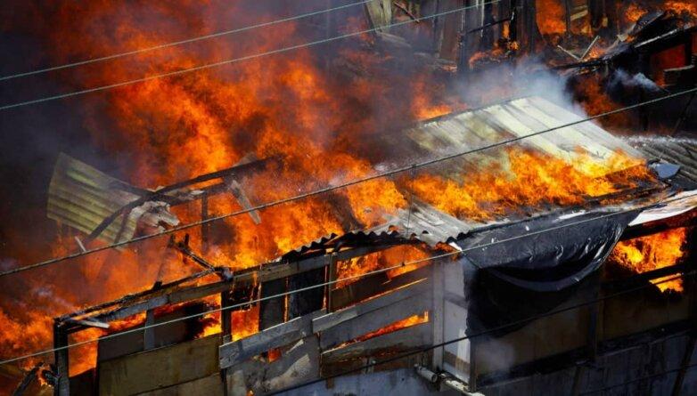 пожар пламя огонь