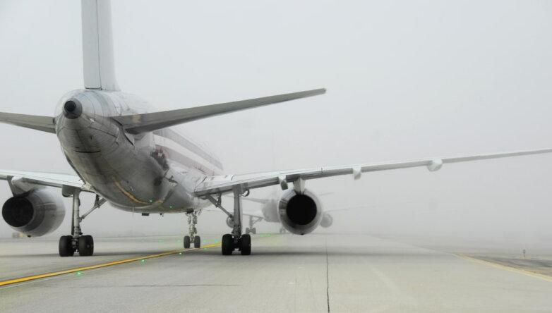 Погода, туман, самолёт, ВПП, аэродром