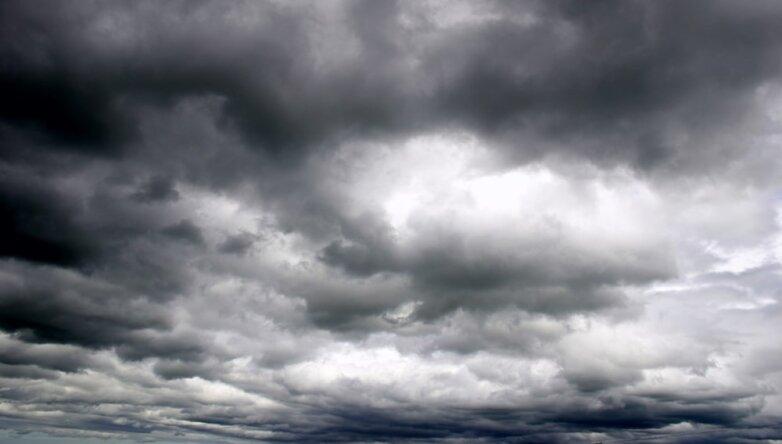 Пасмурная погода, тучи, облака, дождь, небо