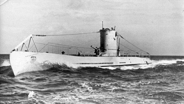 Немецкая подводная лодка U-35