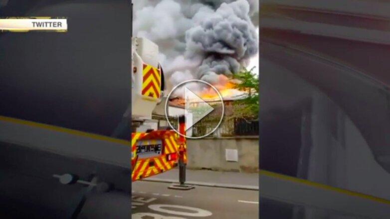 Пожар Версаль