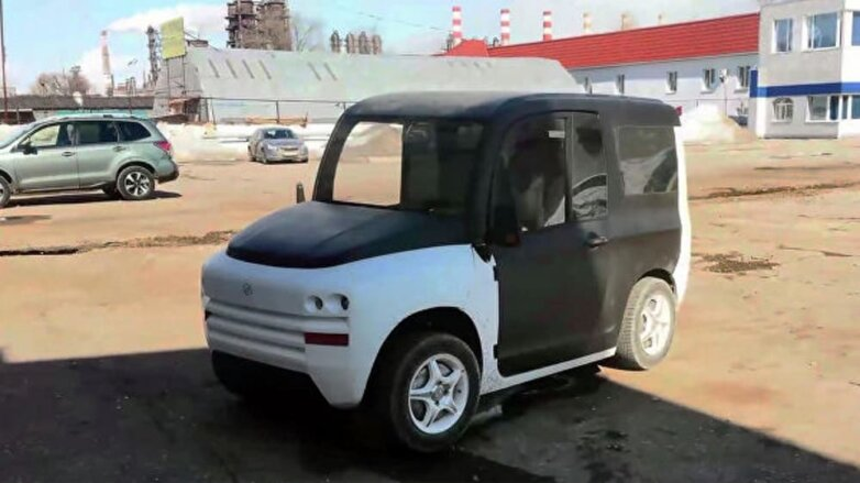 Электромобиль ZETTA