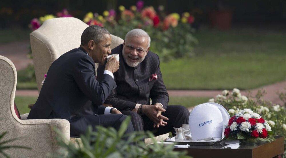 Барак Обама и Нарендра Моди / Barack Obama, Narendra Modi