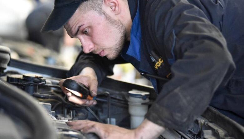 Техосмотр ремонт машины автомастерская автосервис диагностика двигатель