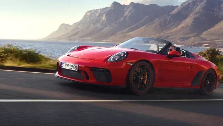Кабриолет Porsche 911 Speedster