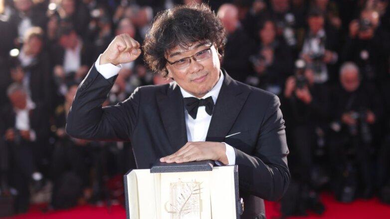 """Южнокорейский режиссер Пон Чжун Хо, получивший """"Золотую пальмовую ветвь"""" 72-го Каннского кинофестиваля за фильм """"Паразиты"""""""