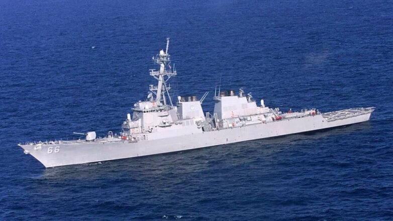 Ракетоносец ВМФ США USS-66 Gonzalez