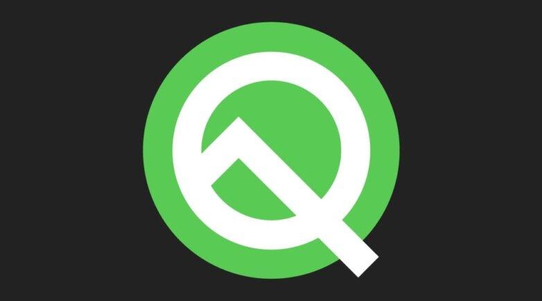 логотип Android Q