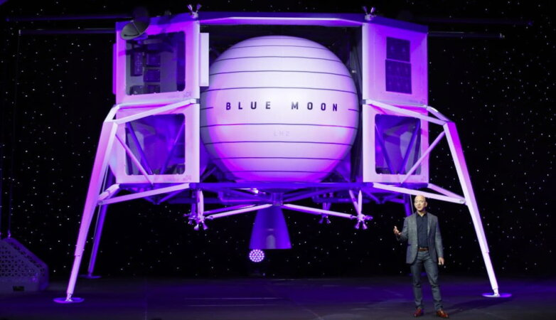Посадочный модуль Blue Moon представляет Джефф Безос