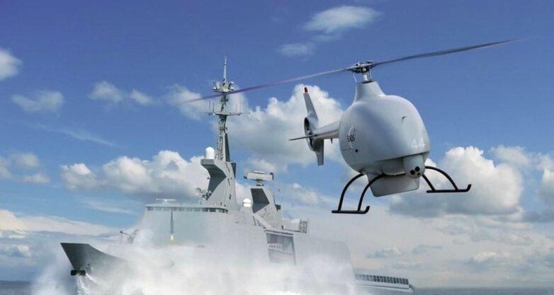 БПЛА, БЛА, беспилотник морского базирования, беспилотник вертолетного типа