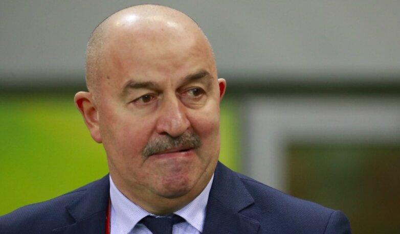 Станислав Черчесов, тренер сборной России по футболу