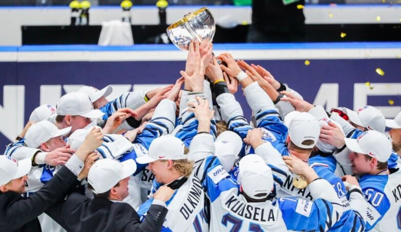 Сборная Финляндии – чемпионы мира по хоккею 2019