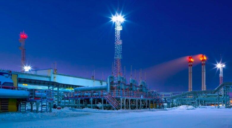 Газпром, добыча газа
