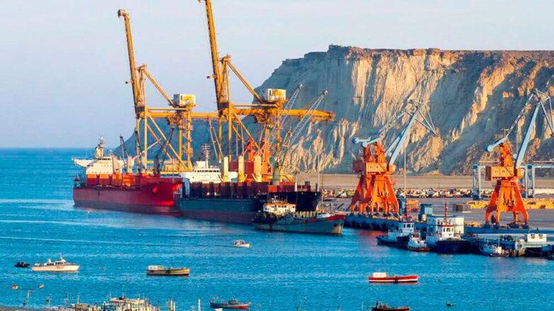 Порт Гвадар. Пакистан