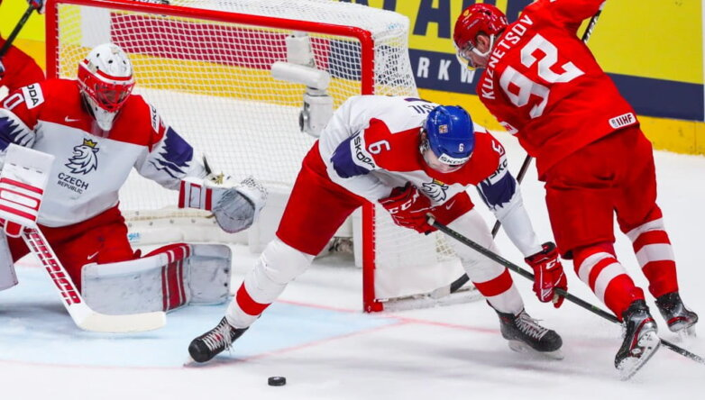 Матч за 3-е место чемпионата мира по хоккею - 2019: Россия - Чехия