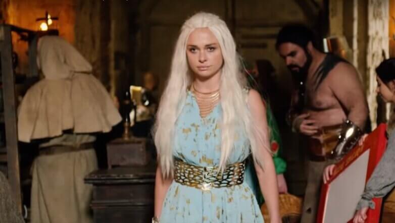 Кадр из фильма «Игрища престолов»