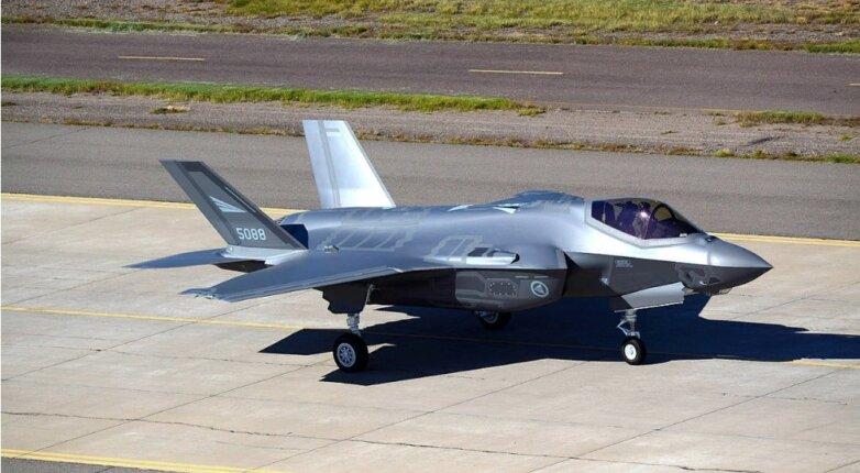 Истребитель F-35 армии США, самолёт, ВВС