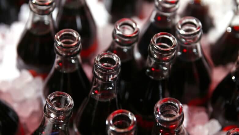 кола бутылки coca-cola