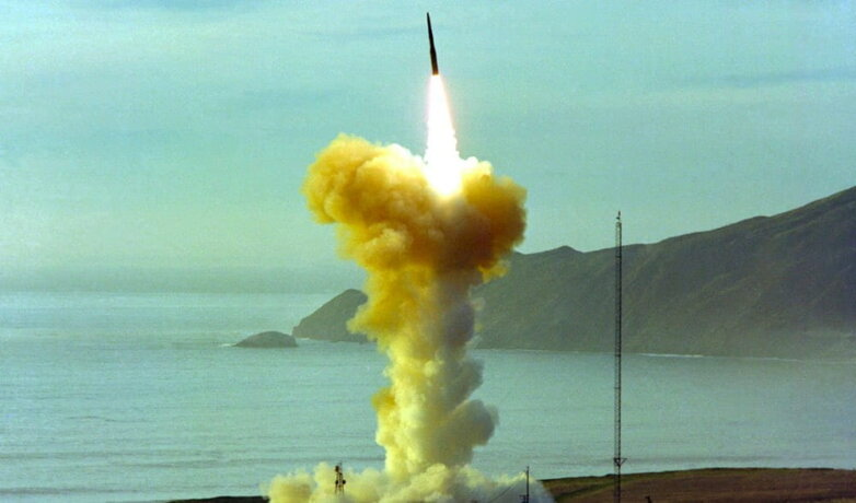 Пуск ракеты Minuteman III