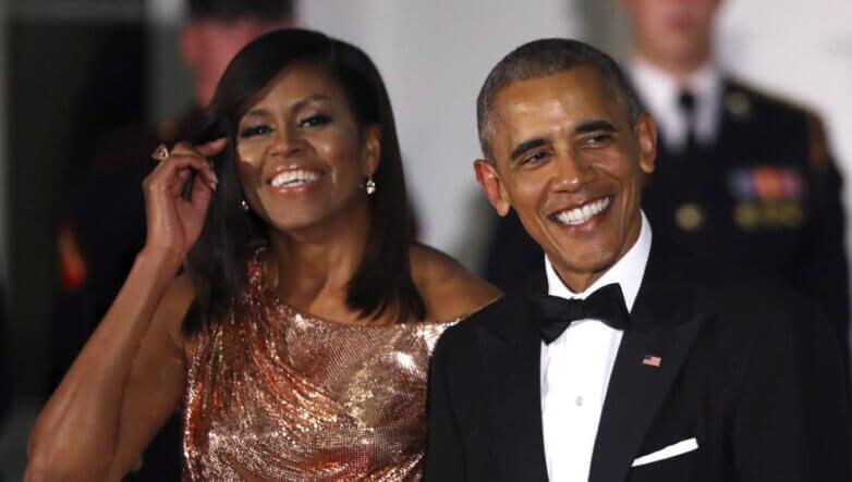 Мишель и Барак Обама
