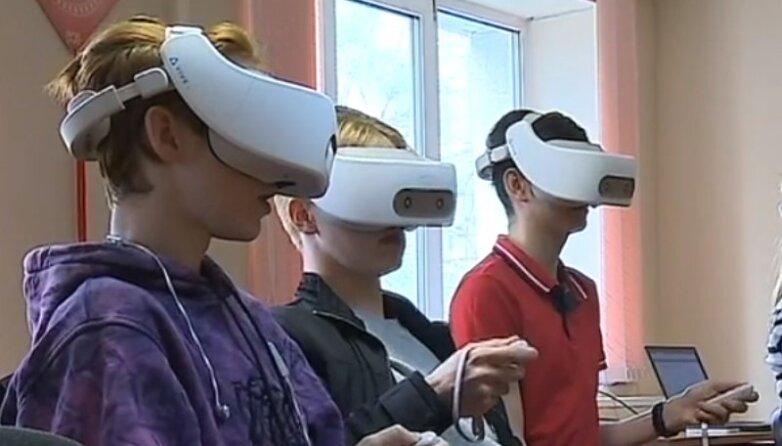 Очки виртуальной реальности для подготовки к ЕГЭ, испытания в ДВФУ