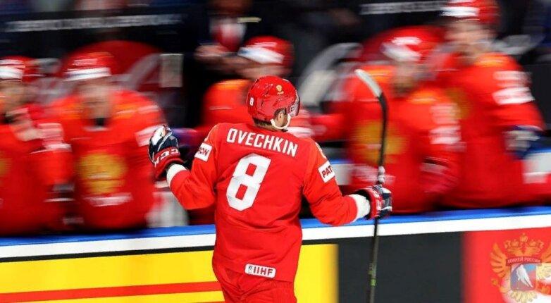 Российская сборная по хоккею, Овечкин