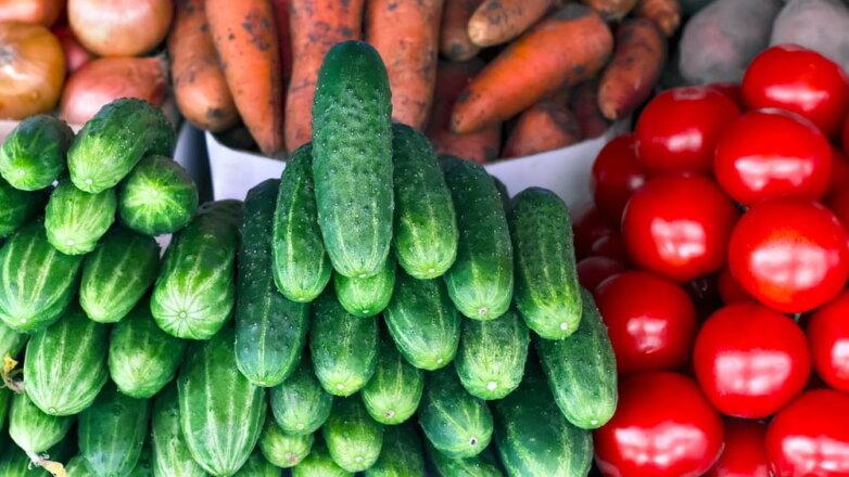 овощи огурцы помидоры томаты