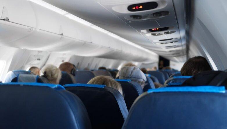 Салон самолёта