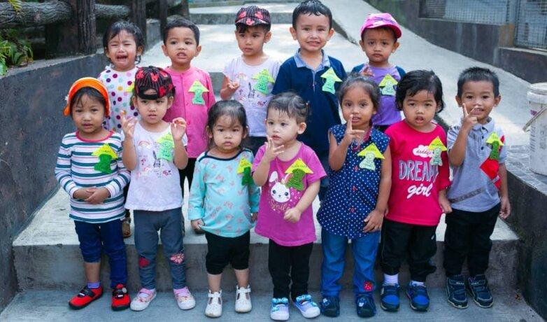 Дошкольники, дети мигрантов