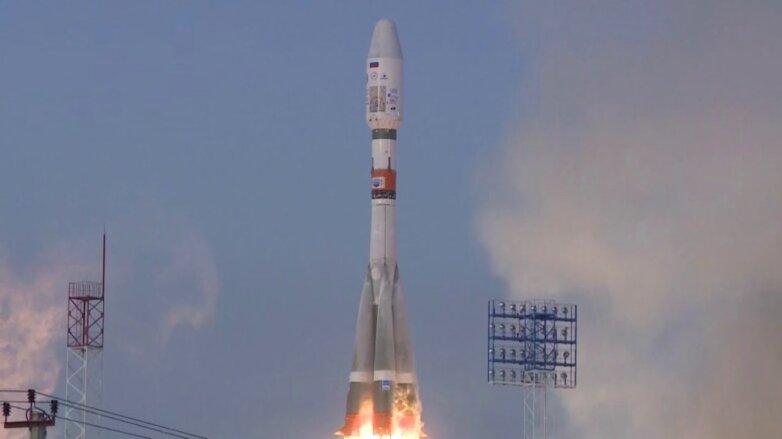 Старт ракеты Союз-2.1б