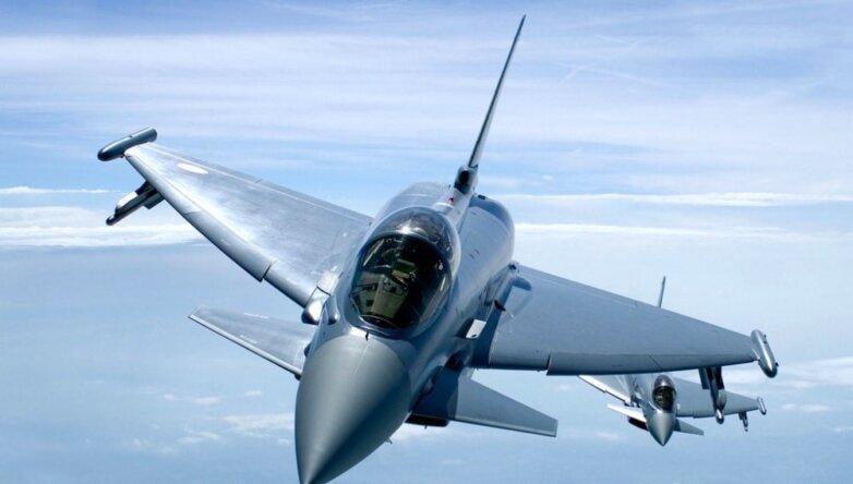 Истребители британских ВВС Typhoon