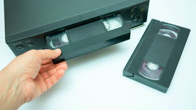 видеокассета видеомагнитофон vhs