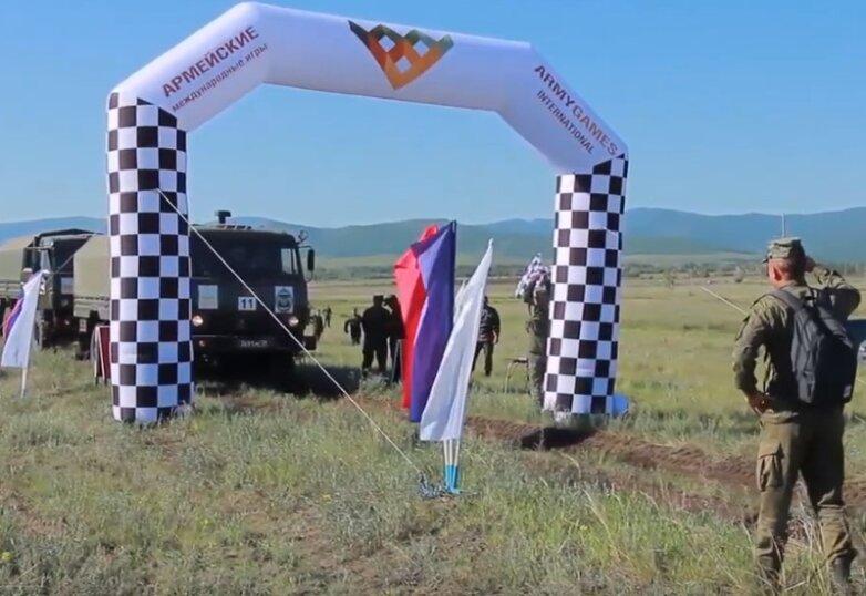 Открытие всеармейского этапа конкурса «Военное ралли – 2019» в Кызыле
