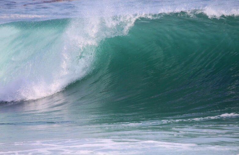 волна, океан