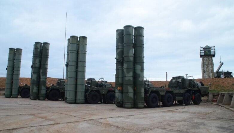 Комплекс С-400 Триумф база защита