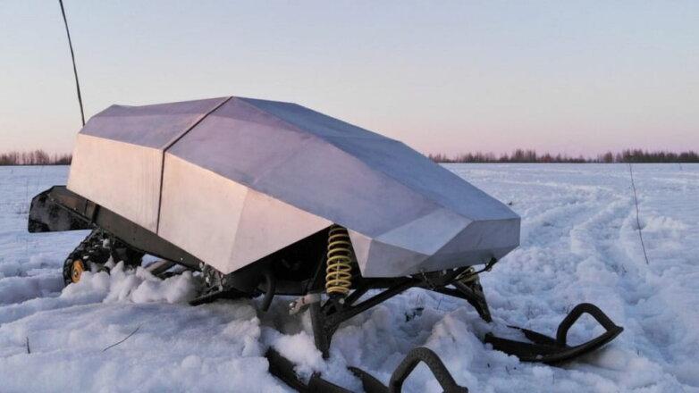 Снегоход-беспилотник