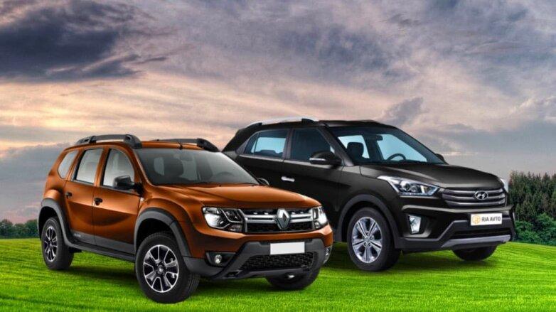 Renault Duster и Hyundai Creta